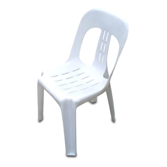 Chair white plastic adept party hire brisbane - Witte plastic stoel ...